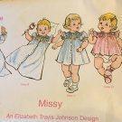 Childrens Corner  Sewing Pattern with Smocking Missy 3A size birth to 18 lbs.