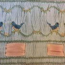 Bluebirds Smocking Plate Mollie Jane Taylor