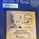Needles 'N Hoops Nurse Sampler Cross Stitch Embroidery Kit Nursing #210