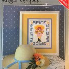 Sugar & Spice, Snips & Snails Little girl and Little boy Cross Stitch Charts Yours Truly 6243