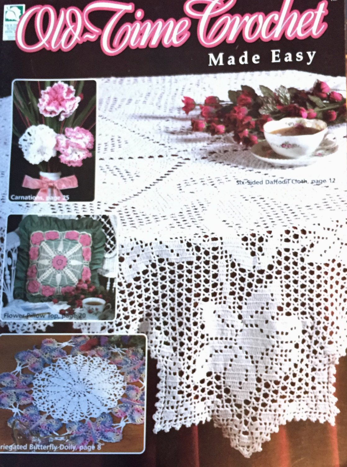 House of White Birches 101057 Old - Time Crochet Made Easy Doilies Thread crochet