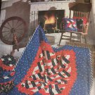 Simplicity 7804 Craft Pattern Patchwork Quilt Pillows Bandbox Sewing Patter