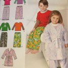 Simplicity Pattern 1573 Child's Pajamas Robe  Size infant to 3