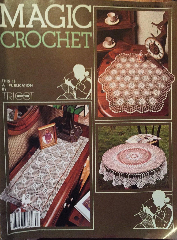 Magic Crochet Pattern Magazine Number 25 1983