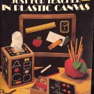 Just for Teacher in Plastic Canvas Pattern Leaflet Leisure Arts 1244