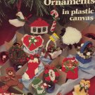 Christmas Tree Ornaments in Plastic Canvas Pattern Booklet 3054 American School of Needlework