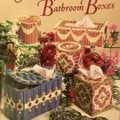 Plastic Canvas Pattern Beautiful Bathroom Boxes 3170 American School of Needlework