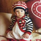 Sirdar 355 Little Stars in Stripes Knitting Patterns for Babies 20 designs
