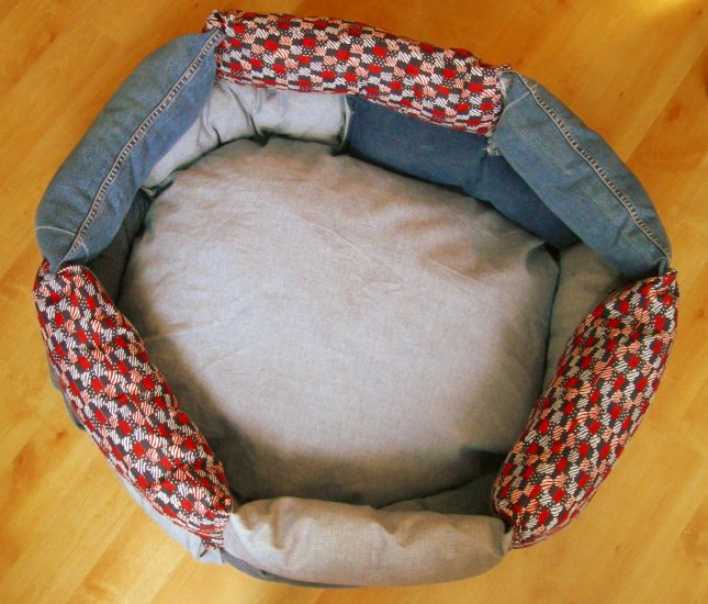 Blue Jean Baby DOG BED