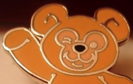 Disney Pin TEDDY BEAR ($3 flat shipping up to 5 pins)