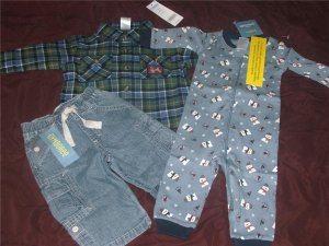 NEW 3 6 MONTHS BOYS GYMBOREE WINTER OUTFITS SUPER CUTE