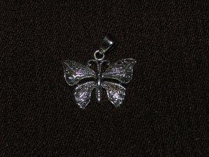 Butterfly silver Pendant - 8363