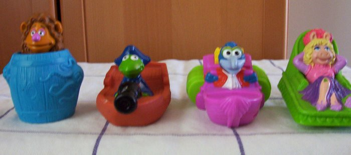McDonald's McDonalds Muppet Treasure Island Toys - 1995  www.rootbeer.ecrater.com