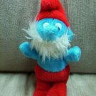 "VINTAGE 6"" PAPA Smurf Smurfs Plush 1981 Wallace Berrie Stuffed Plush - www.rootbeer.ecrater.com"