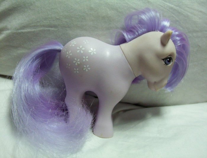Vintage My Little Pony Earth Pony - Blossom - 1982 MLP Great!  www.rootbeer.ecrater.com