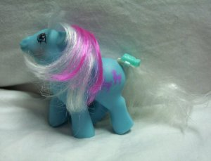 Vintage My Little Pony Baby Earth Pony MLP - Fifi 1987 -  www.rootbeer.ecrater.com