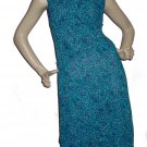 $167  Womens ABS Allen Schwartz Cute Floral Dress Sz 8 M medium