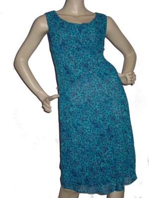 $167  Womens ABS Allen Schwartz Cute Floral Dress Sz 8 M medium
