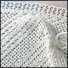 Diagonal Lace Afghan