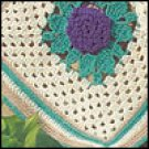 Grandmothers Zinnia Afghan