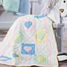 Pastel Hearts Baby Quilt