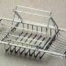 """Cheviot 31420-CH Bathtub Caddy With Reading Rack - Chrome - Fits 27"""" to 37.5"""" Wide"""