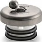 Flip-It P-126 Replacement Bathtub Drain Stopper - PVD Brushed Nickel