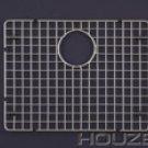 "Houzer BG-4210 20 1/2"" x 15 1/2"" Bottom Grid for Sink - Stainless Steel"