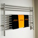 Amba Jeeves LSP-40 Model L Straight Electric Heated Towel Warmer - Polished Stainlesss