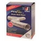 "Dundas Jafine 4"" x 5 ft. ProFlex Dryer Vent Transition Duct BTD45 - UL listed"