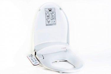 HOMETECH HI-7000-WT ROUND BIDET 'N' WASH - HYGIENE TOILET SEAT - WHITE
