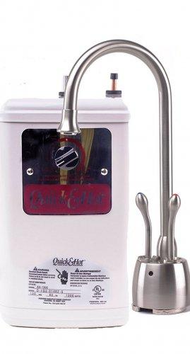 Waste King Madera D721-U-SN Hot & Cold Water Dispenser and Tank - Satin Nickel