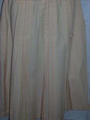 Ivory Wool Skirt