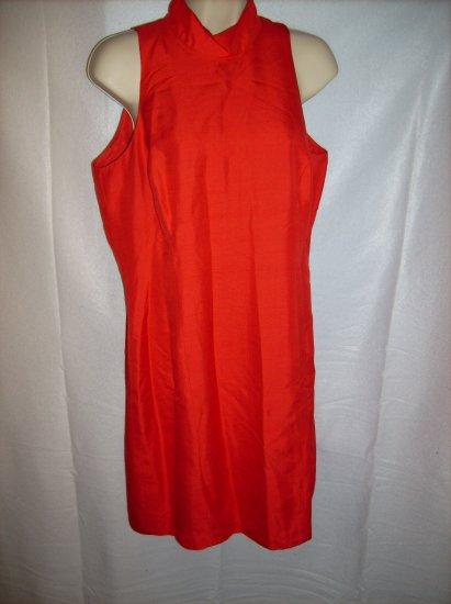 Orange Mod Dress