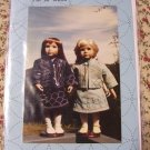 "Sashiko Travel Suit Pattern for 18"" Doll Cloths Shirley Holmes SH100"