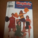 Simplicity Team Spirit Cheerleader Outfit Costume Pattern 9806 Size 14-18 Uncut
