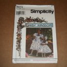 Simplicity Daisy Kingdom Girls Dress Hat Purse Hairbow Size 3,4,5,6 Uncut 9973