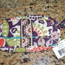 Vera Bradley Mirror Cosmetic Bag Plum Crazy NWT Retired
