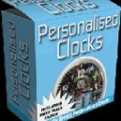 "Personalized Clocks-- ""Create Personalized Clocks of all sizes"""