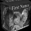 "First Names-- ""Create Personalized First Name prints"""