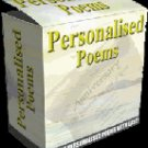 "Personalized Poems-- ""Create Personalized Poems for everyone you know"""