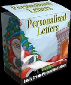 "Personalized Letters-- ""Create Personalized Letters for kids of all ages"""