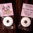 Personalized Pink Rocking Horse Baby Shower Mint Toppers Party Favors