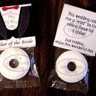 Father of the Bride Mint Toppers Bridal Party Favors