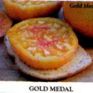 Gold Medal, bi-color tomato seeds