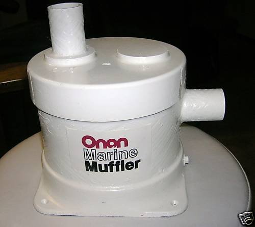 Onan Aqualift style Marine Muffler Kit 155-2107