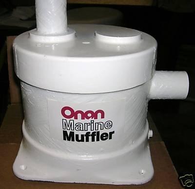 Onan Aqualift style Marine Muffler Kit 155-2010 NIB