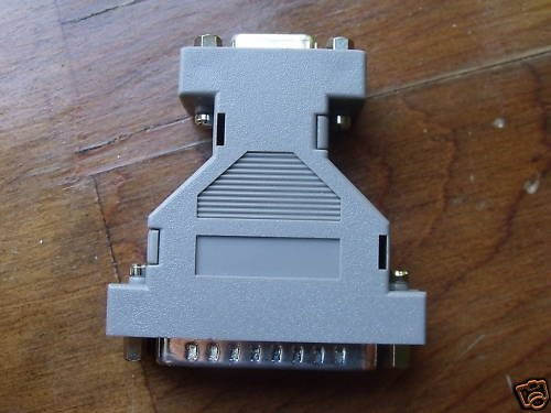 DB 25 to 9 Adapter