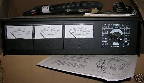 Onan AC Meter Panel Kit for Sea Aux Generator 300-3972