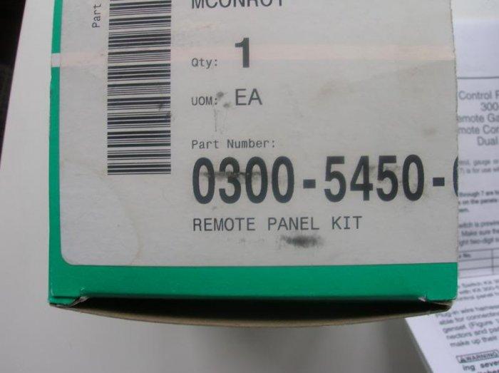 Onan Remote Panel Kit 300-5450-02 for e-QD gensets